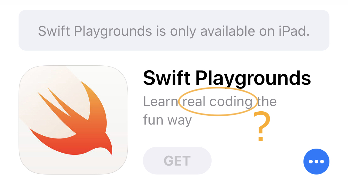 Scratch vs  Swift Playgrounds | Making things    Learning Things